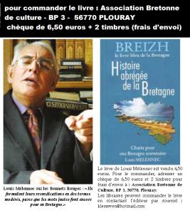 Louis Melennec Le livre bleu_ Histoir_édit