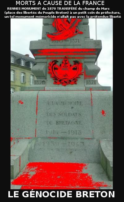 États Unis bon out x où puis je acheter Le Génocide Breton | BZH Reflexion
